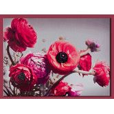 Found it at Wayfair - Bold Bouquet with Glitter Painting Print on Canvas