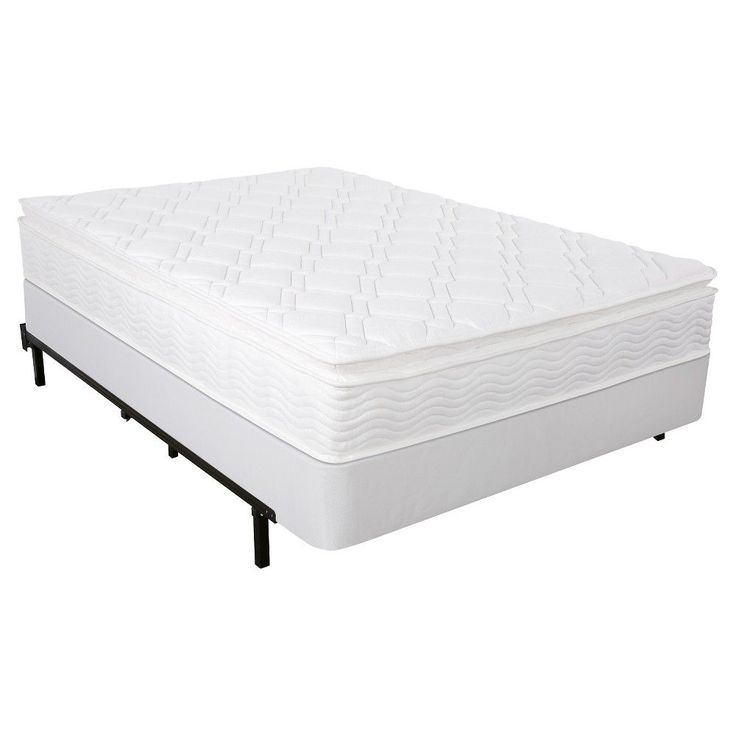 sleep revolution set 10 spring icoil pillow top mattress and smart box spring cream
