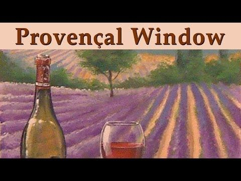Murals & Trompe l'oeil - Provencal Window