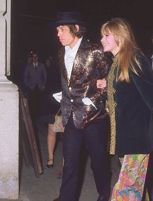 Mick and Maryanne ( i love her pants!)
