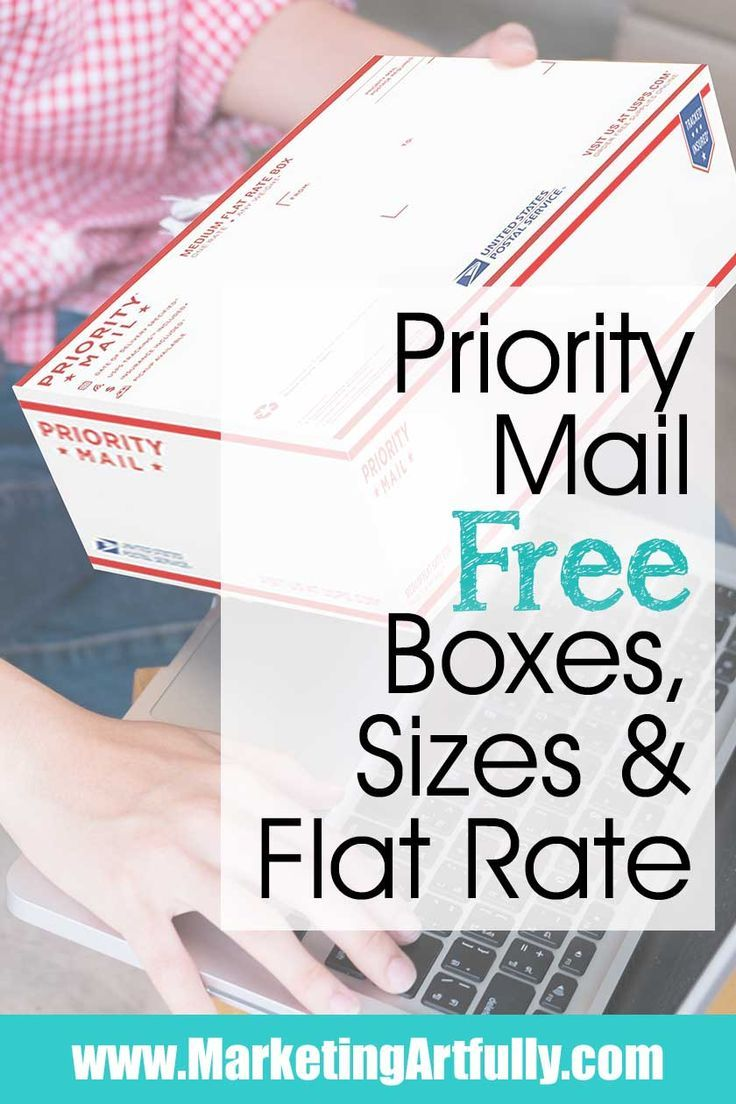 Usps Priority Mail Free Boxes Sizes And Flat Rate Starting An