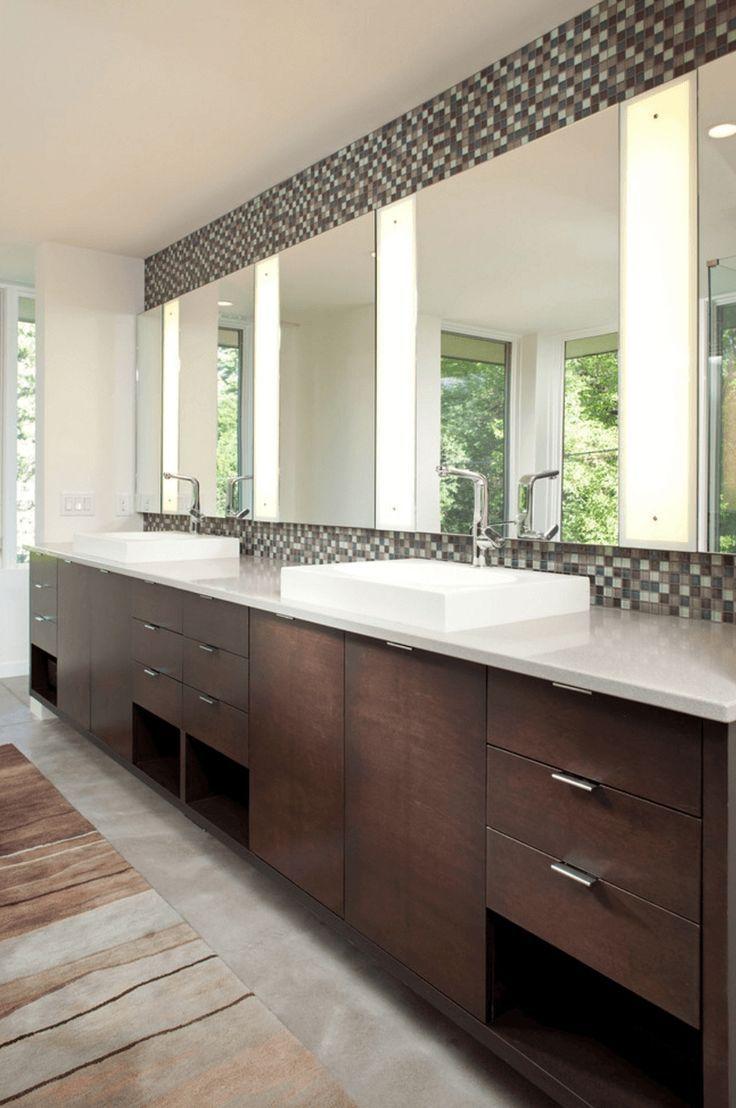 Unique 12 Insanely Beautiful Single Vanity Bathroom Mirror Ideas