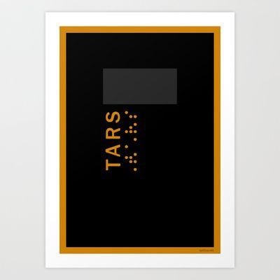 Interstelalr: TARS  http://society6.com/product/interstellar-tars_print