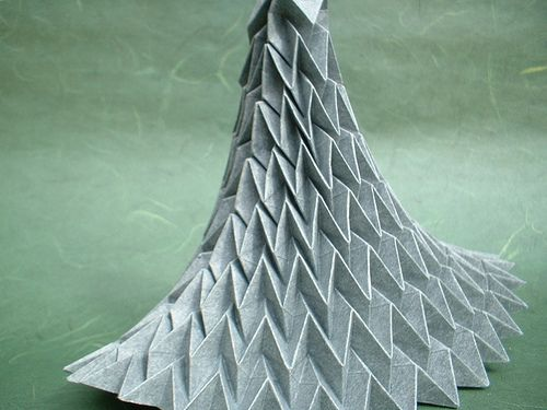 Pleated Form by thiomor, via Flickr