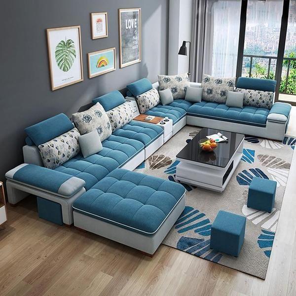 Customized High Quality Living Room Furniture Living Room Sofa Set Fabric Sofa Luxury Sofa Design High Quality Living Room Furniture Modern Sofa Living Room