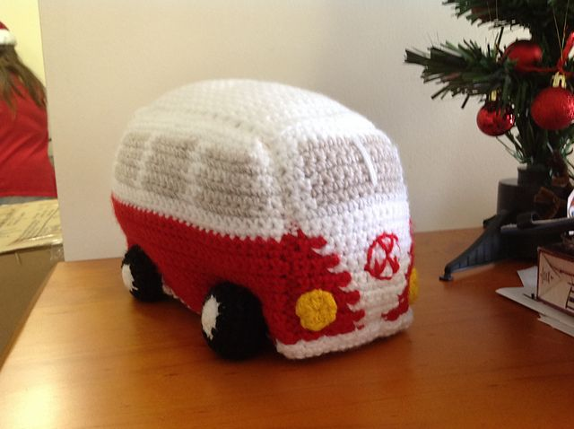 I came across these adorable Volksbagon van/buses and had to share! There is a free pattern on Ravelry. I just love the color she used! Made by VelvetKey You can get the free Volkswagon van crochet pattern —->HERE. Made by BowerBirds I found this one on Pinterest with no source (darn!) I also found this …