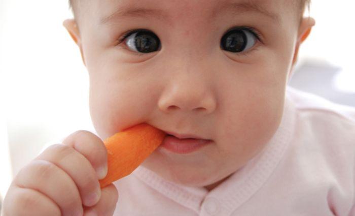 Wie zegt dat de eerste hapjes gepureerd moeten zijn? Met de Rapley-methode leert je baby eten uit zijn vuistje. Lees er over op Ouders van Nu!