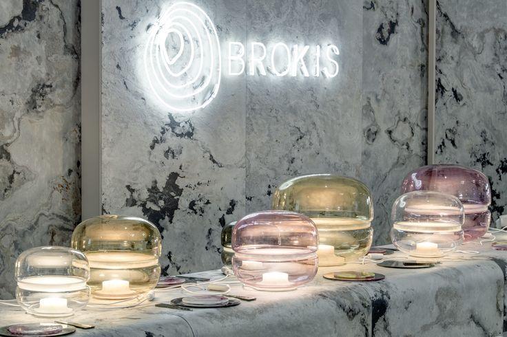 Now at Designblok 2017. Brokis - MACARON by Lucie Koldova - lights - interior - design. #designblok #designblok2017 #brokis #brokislighting