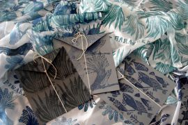 Silk Scarf by Kate Hill - The Little Gallery