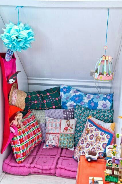 Boho hippie comfy nook hippie room pinterest more for Reading nook cushion