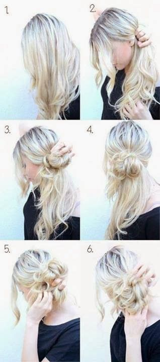 This hairstyle is messy but classy at the same time. BohoChic