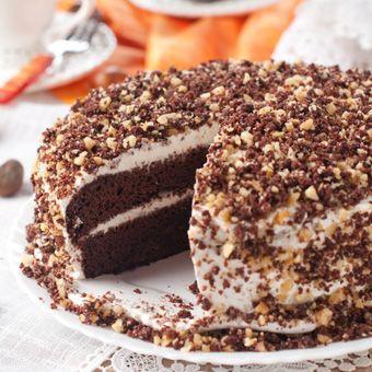 Tort orzechowy | ● e-torty.pl - Cukiernia internetowa