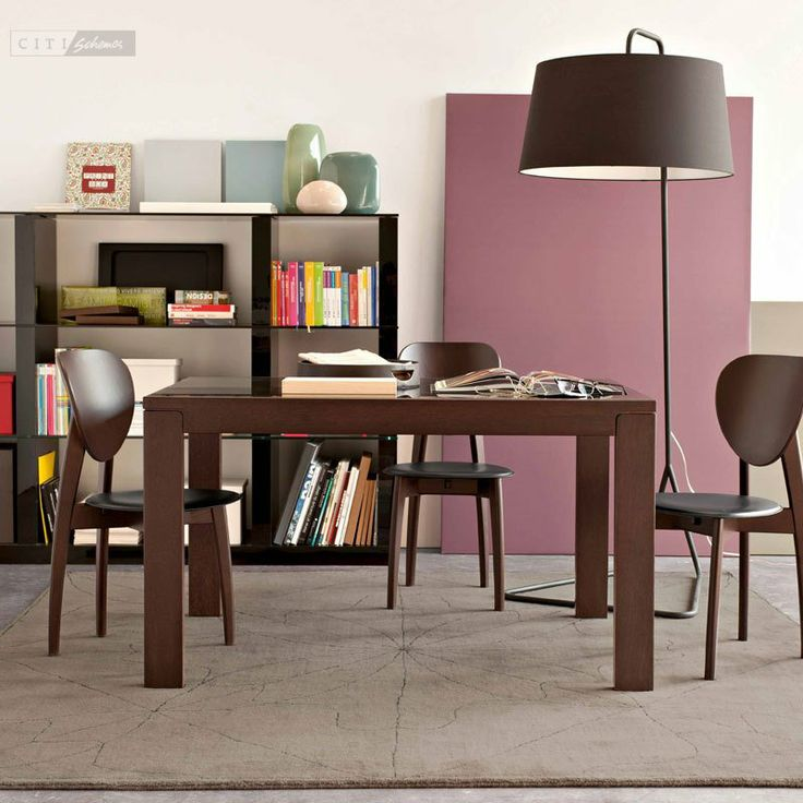 Vero VR Extendable Glass Top Table Dining Tables Dining