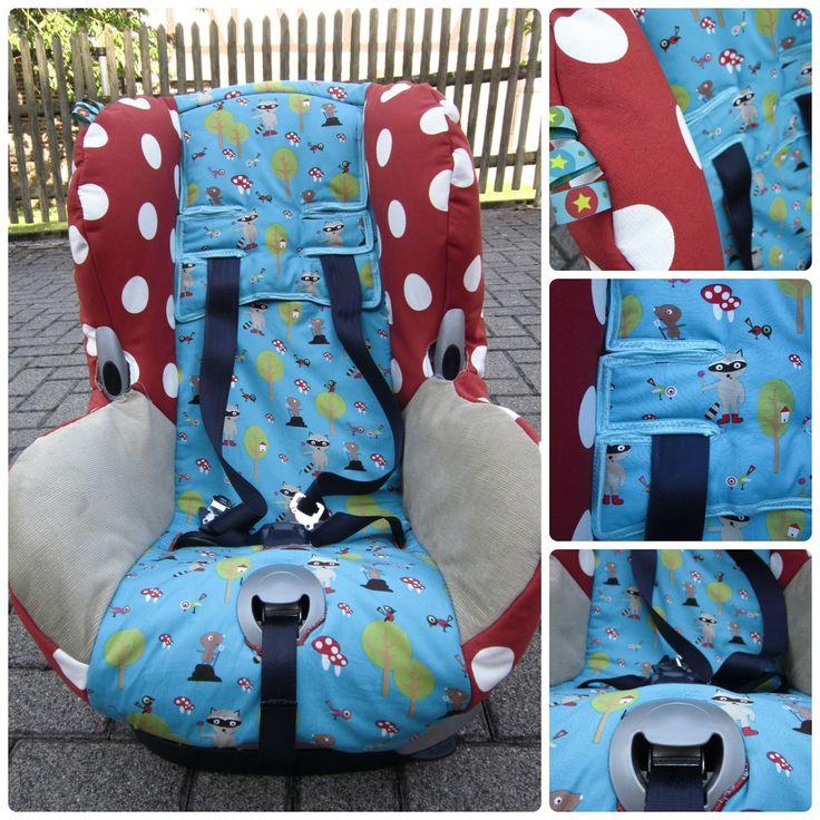 Nadelzauber: Ein neuer Bezug für den Auto-Kindersitz (mit Anleitung) - gilt für alle Auto-Kindersitze mit vorhandenem alten Bezug