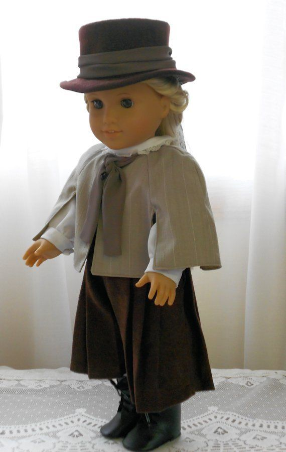 American Girl Doll Clothes - Turn of the Century Riding Habit. $75.00, via Etsy.
