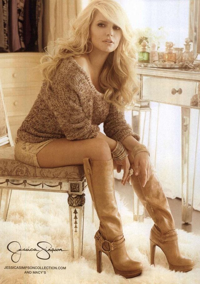 jessica simpson. 100% gorgeous!!