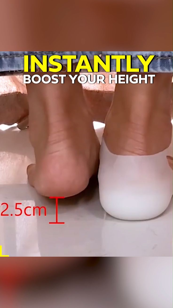 😱✨Increase Your Height INSTANTLY!💥 ☑️Invisible☑️Comfortable☑️Boost Confidence