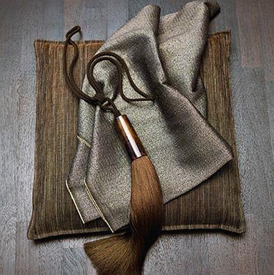Golden Brown Tasseled Curtain Tieback