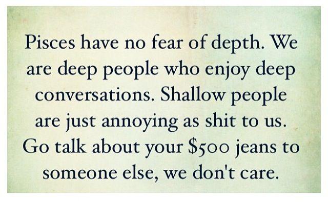 Pisces LOVE deep conversations