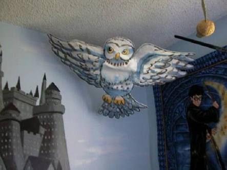 harry potter room design idea - Google Search