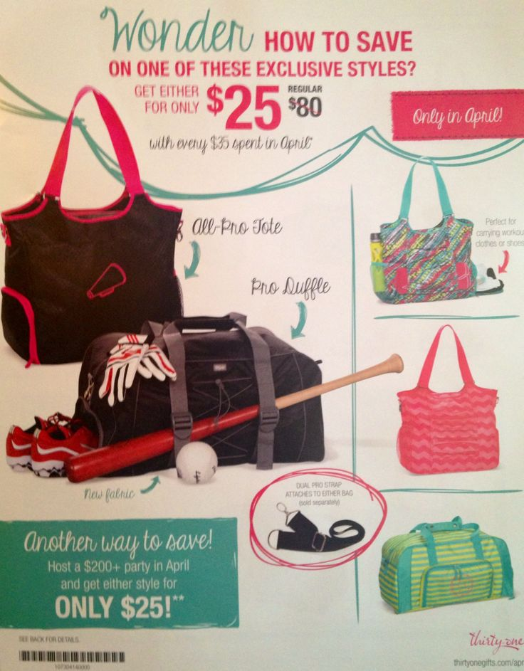 Pro Only Launch Lipstick Swatches Photos: New Release!! Thirty-One Spring 2014 All-Pro Tote And Pro