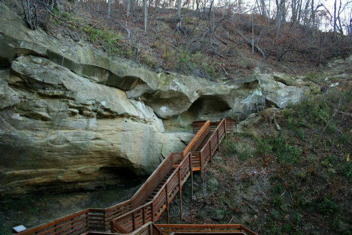These 20 Hiking Spots In Nebraska Are Completely Out Of This World  ) Indian Cave State Park, Shubert