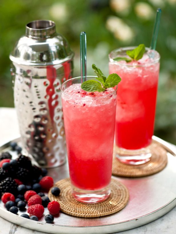 Wild Berry Mojito -- you know you want it!  ok so it's not health food but it has fruit ;-)