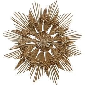 Christmas Straw Ornament