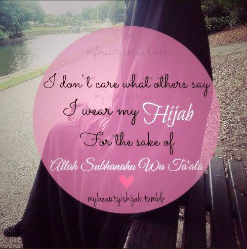 25 Best Hijab Quotes On Pinterest Islam Muslim And Islamic Quotes On Life