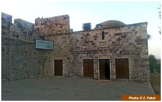 Spot where Prophet Sulaiman (upon him be peace) died This building, located at the rear end of the Aqsa platform is believed to be the place where the Prophet Sulaiman (upon him be peace) passed away while standing up in prayer and leaning on his cane.