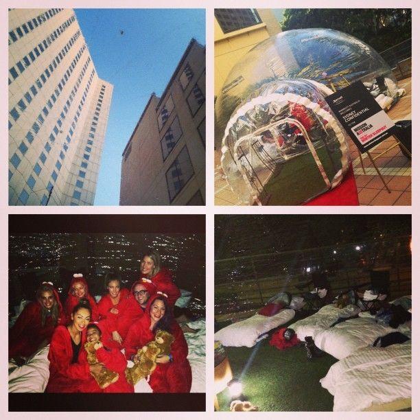 #marriottbubble #wintersleepout #sydneyconfidential #sydconfidential