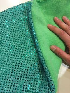 Cut Now, Measure Later : DIY Fleece Mermaid Tail Blanket