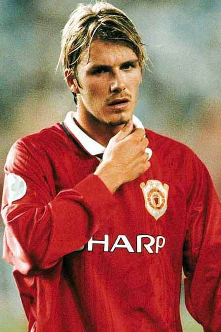 Manchester United & David Beckham. A good combination!!