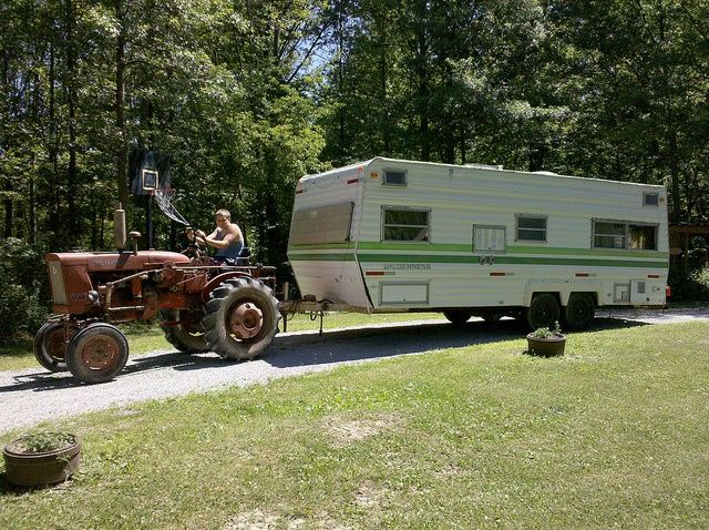 Tractor Pulling Trailer : Best images about fun town fabrications on pinterest