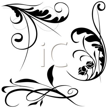 17 Best images about Swirls and Elements Clipart on Pinterest ...