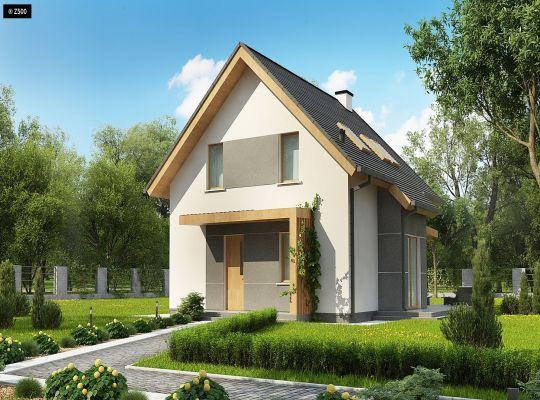 Projekty domów na wąskiej działce – House Invest