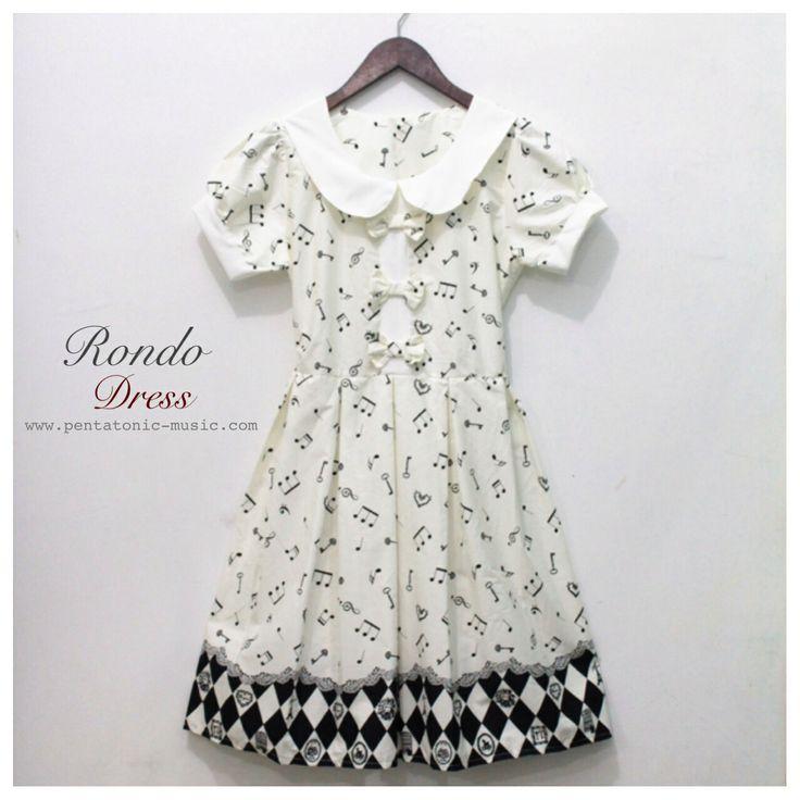 Rondo Dress Price: 320.000 IDR Follow Instagram : pentatonicmusic