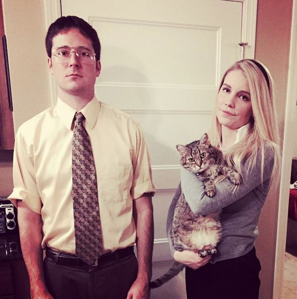 dwight & angela | the office | halloween costumes
