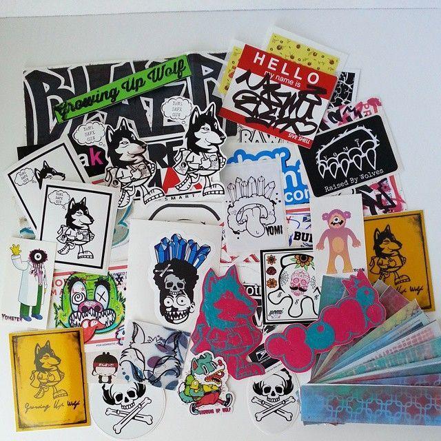 Sticker street art stickers sticker decals