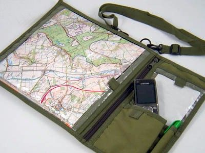 waterproof military map case