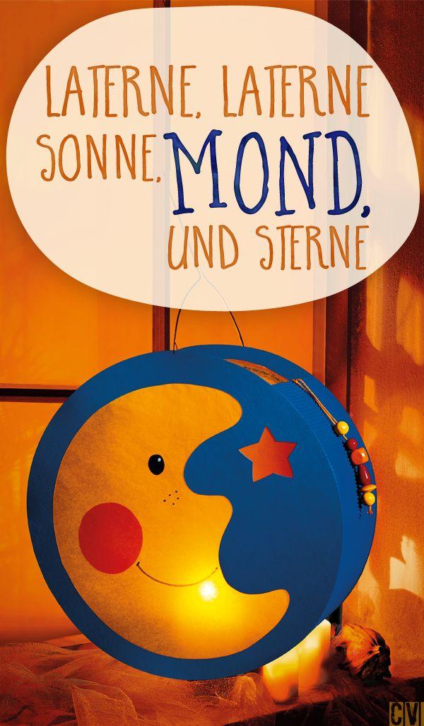 Da scheint der Mond beim Laternen-Umzug... (© Christophorus Verlag)