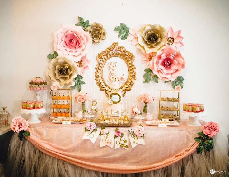 Vintage / Retro Baby Shower Party Ideas | Photo 1 of 30