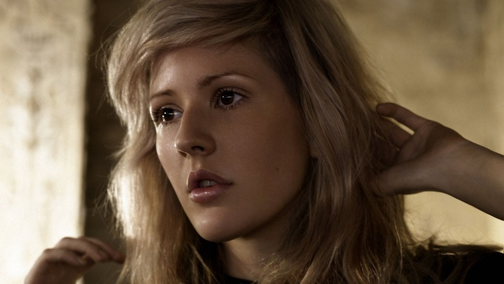 Ellie Goulding.  This is my favorite photo of her because it looks more natural .