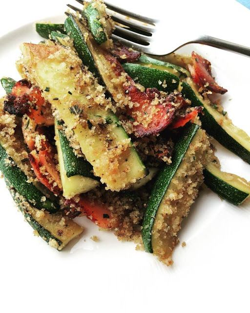 dishes4ibs Low Fodmap Courgette Gremolata