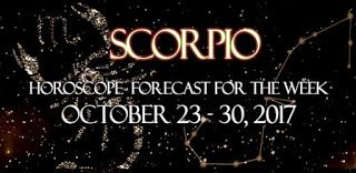 Scorpio Horoscope for the Week October 23 to 30
