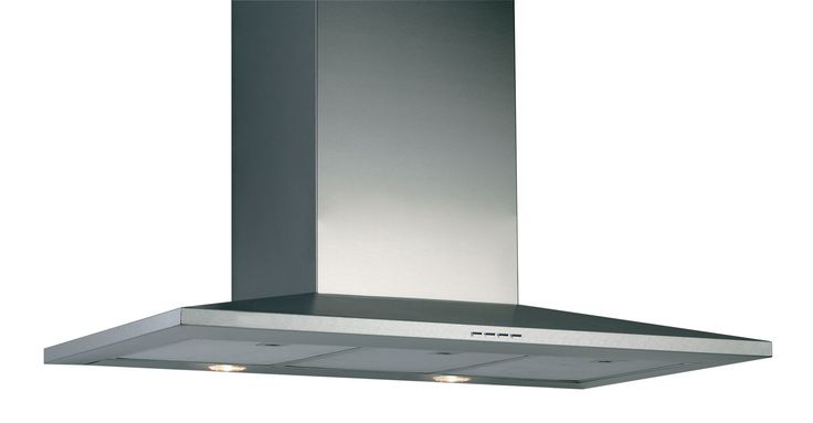 Designair VL390SS Stainless Steel Chimney Cooker Hood, (W) 900mm | Departments | DIY at B&Q
