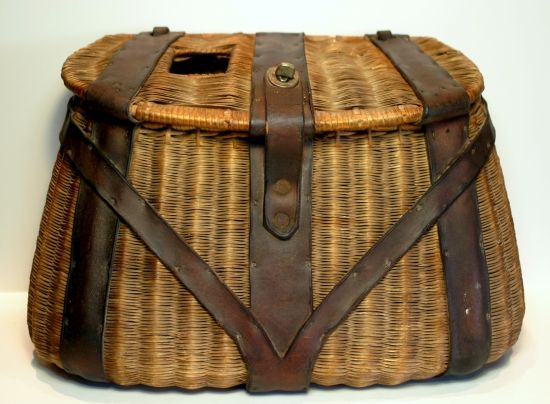 260 best images about vintage creels and packs on pinterest for Fly fishing creel