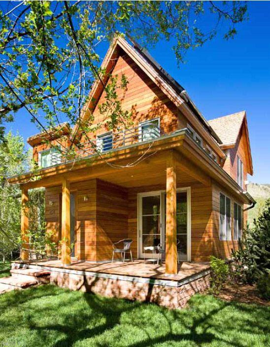 Beyond NetZero In Aspen, Colorado | Warmboard, Inc. The Minimal House Will  Always