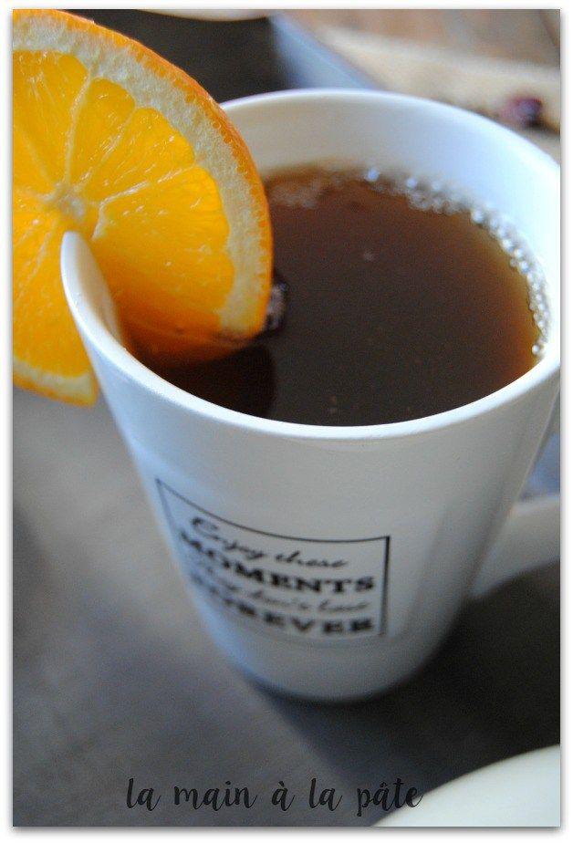 Thé à l'orange façon vin chaud -