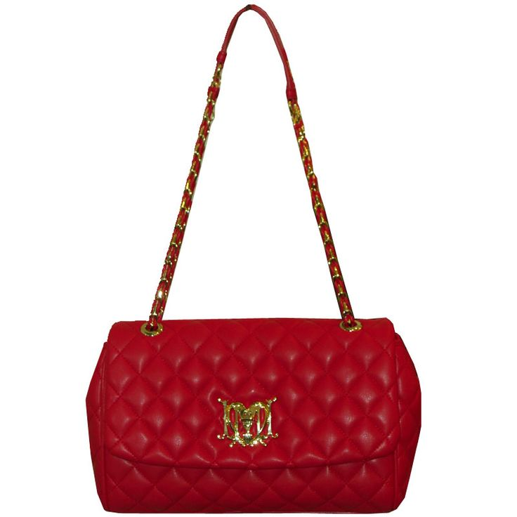 Love Moschino Red quilted handbag